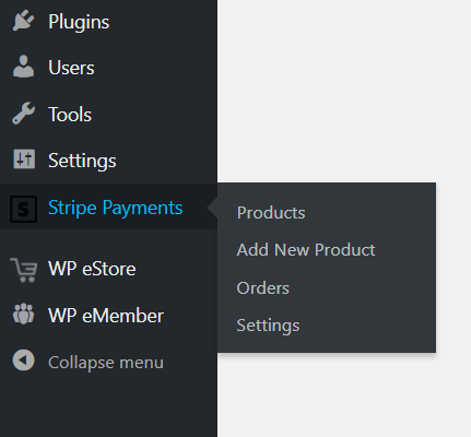 stripe-payments-plugin-dashboard-admin-menu-1