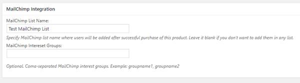 mailchimp-integration-stripe-payments-product-collection